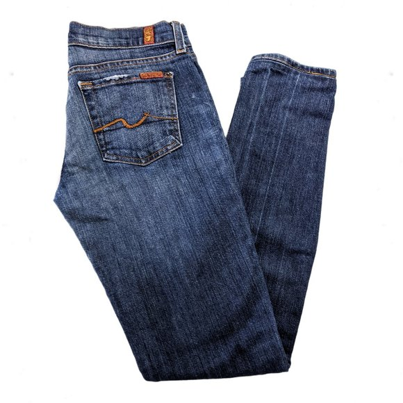 7FAMK Roxy Slim Jeans 26